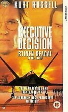 Executive Decision (VHS) Very good condition. Kurt Russell.