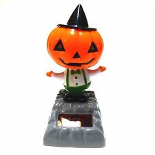 New Solar-Powered Dancing Halloween Pumpkin with Hat ~ FREE SHIPPING