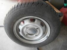 Subaru Wheels With Tires, 4 Bolt Pattern