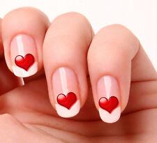 20 Nail Art calcomanías transferencias pegatinas # 11-Corazón