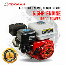 6.5HP Petrol Stationary Engine Motor 4-Stroke OHV Horizontal Shaft 5.5HP Replace