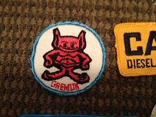 VINTAGE CARS AUTOMOTIVE GREMLIN CAT DIESEL KW ND WALKER MUFFLERS PATCH LOT RARE