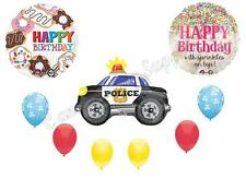 POLICE COPS & DONUTS Birthday Party Balloons Decoration Supplies Sprinkles New!!
