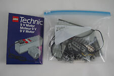LEGO Technic 8720 9V MOTOR SET, Near complete, with instructions!