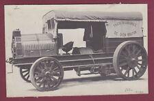 PHOTO - 080814 - CAMION DE DION BOUTON vers 1910 - TREUIL DE LABOURAGE
