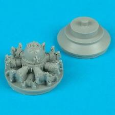 Quickboost 1:48 P-36A Hawk Engine for Academy  -Resin Update #QB48-053