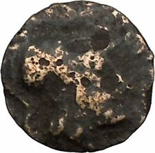 MESEMBRIA Thrace 350BC Authentic  Ancient Greek Coin AHTENA Cult Wheel i38629