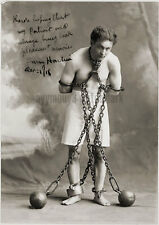 "Harry Houdini - 8""x10"" Autographed Sepia Toned Photo - RP"