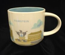 Starbucks Ramstein YAH Mug Germany Cat Air Force Base Coffee Cup You Are Here
