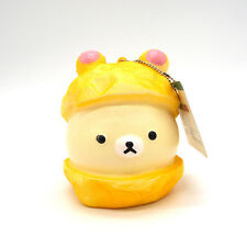 1PCS Cute 9CM Squishy Hat Rilakkuma Cartoon Soft Bread Scented Kid Toy Fun Doll