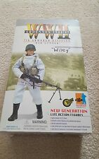 """DRAGON 1/6 SCALE """"WILEY"""" 7th ARMORED DIV BAR GUNNER FIGURE 12 INCH WWII ARDENNES"""