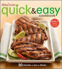 Betty Crocker Quick and Easy Cookbook Betty Crocker Books - Betty Crocker - Pape