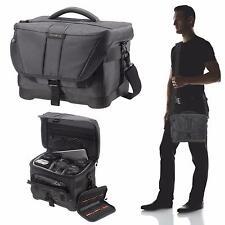 Samsonite DSLR SLR Digital Camera Shoulder Messenger Bag Case No Shok BLACK M