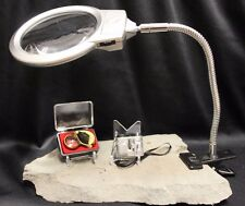 3 Coin Collecting Magnifying Inspection Kit 60x Microscope LED Lamp Magnifier