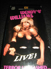 Wendy O. Williams Live! Terror Unleashed - OOP - VHS