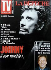 TV MAGAZINE 2002: JOHNNY HALLYDAY_MIREILLE MATHIEU_HENRI SANNIER