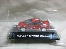 PEUGEOT 307 WRC 2004 JAPAN No.5 1:64 Scale CM's Rally Car Collection