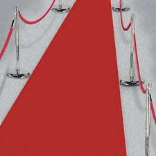 15ft Hollywood Party Red Carpet Scene Setter Fabric Floor Runner decoration