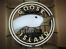 "New Goose Island Beer Bar Neon Light Sign 17""x14"" Ship From USA"