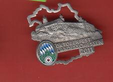 OKTOBERFEST SCHIEßNADEL 2011-SILBER-KOSTENLOSER VERSAND-PLASSENBURG in KULMBACH-