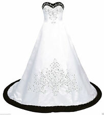 Plus Size Ball Gown Wedding Dresses Embroidery Beading Formal Bridal Gowns
