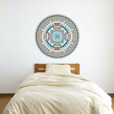 Indian Spiritual Mandala Vinyl Wall Art Sticker for Home Decor / Interior Des...