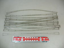 AP841-0,5# 16x Märklin H0/AC 7019 Catenary wire sections for Overhead line K