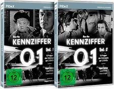 Gesamtedition - Kennziffer 01 / Die komplette Serie auf 4 DVDs Pidax Neu