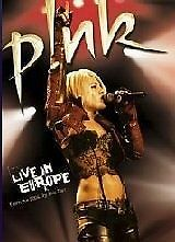 Pink - Live In Europe (DVD, 2006), R-2,4, Like new, Free shipping in Australia