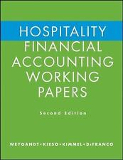 Hospitality Financial Accounting Working Papers by Weygandt, Jerry J., Kieso, D