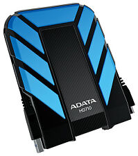 1TB AData DashDrive Durable HD710 USB3.0 Portable Hard Drive (Blue/Black)