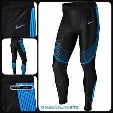 Nike Power Speed Running Tights Dri Fit Compression SZ Large Men's Fitness