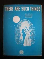 There Are Such Things Sheet Music Vintage 1942 Stanley Adams Abel Baer Meyer (O)