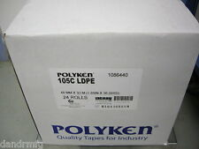 "NEW 24 ROLLS POLYKEN 105C 1.89"" x 36.09yd DOUBLE SIDED CARPET TAPE USA MADE"