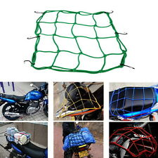 Motorbike Motorcycle Cargo 6 Hooks Hold Down Net Bungee Baggage Luggage Band UR