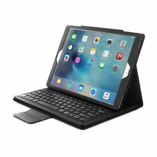 "Detachable Wireless Bluetooth Keyboard Case PU Leather for iPad Pro 12.9"" Black"