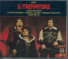 COFFRET 2 CD OPERA INTEGRALE--IL TROVATORE DE VERDI--DOMINGO/PRICE/MILNES/MEHTA