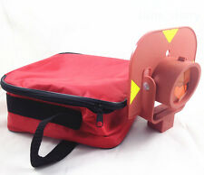 New Red single prism for leica type total stations surveying OFFSET: 0mm