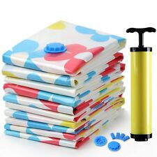 11pcs/set Space Saver Saving Storage Bags Vacuum Seal Compressed Organizer Bag