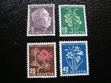 SUISSE - timbre yvert et tellier n° 467 a 470 n** (A19) stamp switzerland