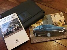 RENAULT LAGUNA OWNERS HANDBOOK MANUAL & WALLET SET 1993 -1998 1.8 2.0 V6 2.2 DI