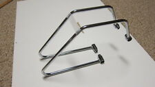 Triumph Large Leather Saddle Bags/Pannier Support Brackets, America, Speedmaster