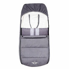 Easywalker MINI Stroller Footmuff - Moonwalk Grey NQ0092