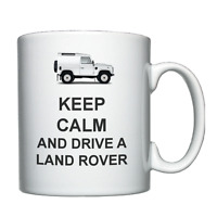 Keep Calm and Drive a Land Rover  - Personalised Mug / Cup
