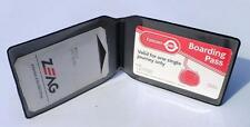 2 x Train ticket holder wallet Oyster Brand New - 2 inside pockets & 1 outside -