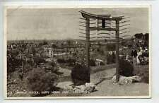 (Ln020-374)  Japanese Garden, Happy Mount Park, MORECAMBE 1942, Used G