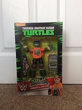 TMNT Teenage Mutant Ninja Turtles WWE Superstars Leonardo as John Cena NEW