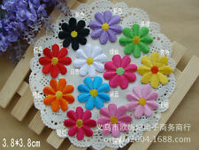 Sew on & iron on  patches(12 color flower set )