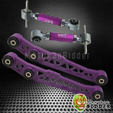 NEW HONDA CIVIC DEL SOL 93-97 LOWER CONTROL ARM SUSPENSION REAR CAMBER KIT PURPL