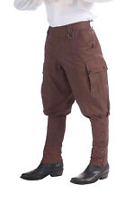 Pantalon Homme Marron Steampunk science fiction fancy dress costume outfit Punk